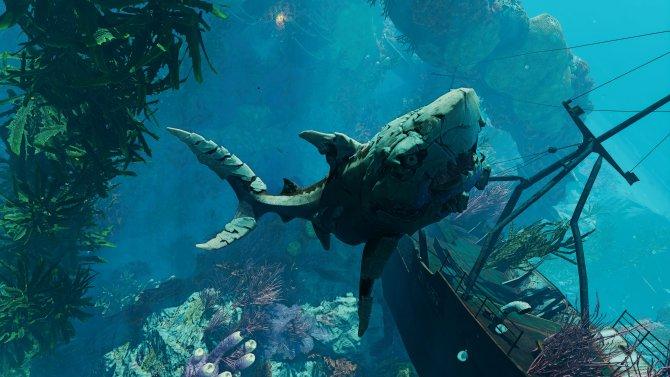 Теперь у нас акула-мутант. Элементы научной фантастики стали спорной частью истории.