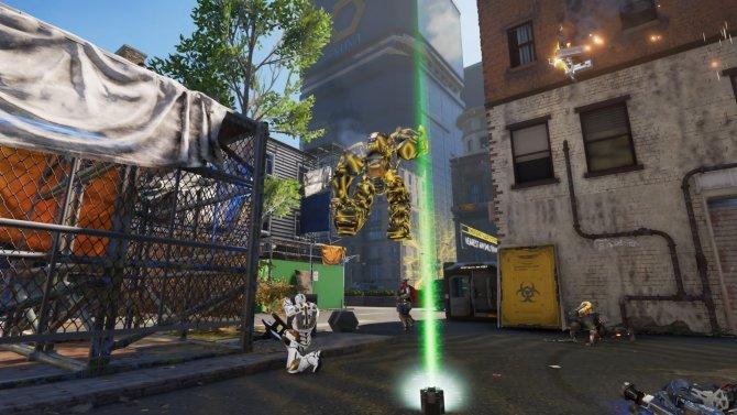 Подумаешь, робот по воздуху ходит.