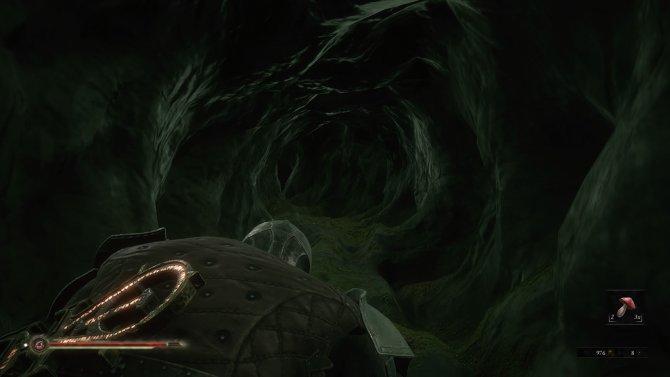 Вот такие кишки в игре скрывают подзагрузки локаций в игре.