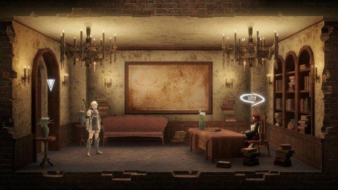 В небольших помещениях нередко включается 2D-вид.