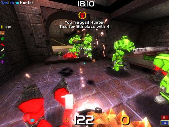 Концентрированное удовольствие – вот девиз Quake Live.