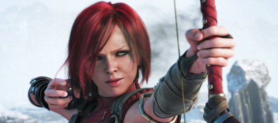 Лелиана – один из ключевых персонажей, выглядит прекрасно.